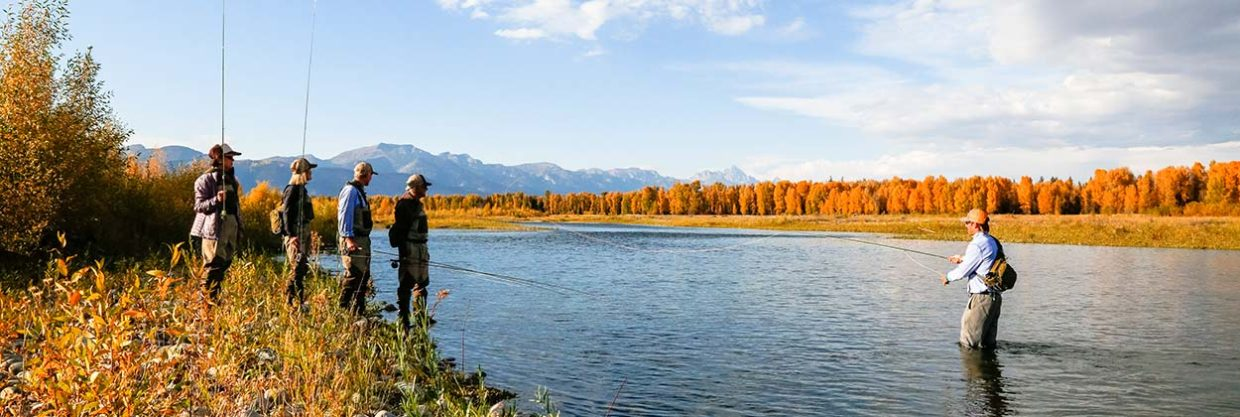 learn to fly fish with jackson hole fly fishing school
